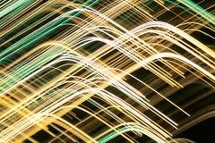 Fancy light lines Stock Photos