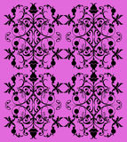 Fancy lilac seamless pattern Stock Photography