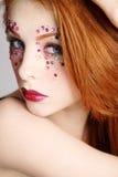 Fancy makeup Royalty Free Stock Photos