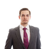 Fancy man in a suit Stock Photography