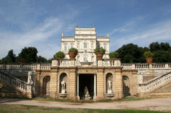 Fancy Mansion in Rome Italy Royalty Free Stock Photos