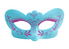 Fancy mask isolated on white Stock Images