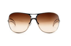 Fancy metall sunglasses Stock Photography