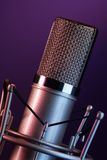 Fancy mic on the stage Stock Photo