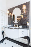 Fancy mirror royalty free stock photos