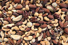 Fancy Mixed Nuts Royalty Free Stock Photography