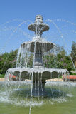 Fancy Multilevel Fountain Royalty Free Stock Image