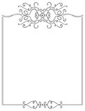 Fancy Page Border. A cute and fancy border/frame Royalty Free Stock Image