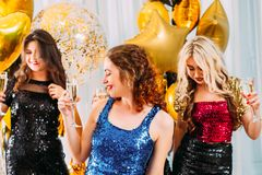 Fancy party festive occasion celebration girls stock images