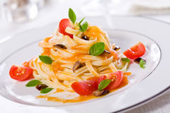 Fancy Pasta royalty free stock images