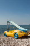 Fancy pedal boat Stock Photos