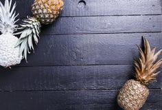 Fancy pineapple Stock Photos