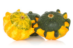 Fancy pumpkins Stock Images