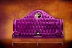 Free Fancy Purple Seat Stock Photography - 24875372