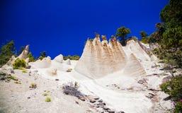 Fancy rock formations Paisaje Lunar Stock Image