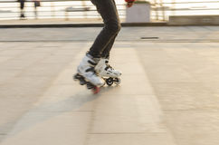 Of fancy Roller Skating Stock Images
