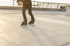 Of fancy Roller Skating Royalty Free Stock Images