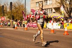 Fancy Runner. Fancy Charity Runner London Marathon Stock Photography