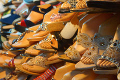 Fancy sandals Royalty Free Stock Images