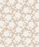 Fancy seamless floral background Royalty Free Stock Photos