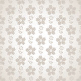 Fancy seamless flower wallpaper Royalty Free Stock Photos