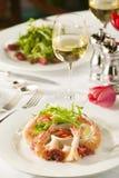 Fancy shrimp cocktail appetizer. Stock Image
