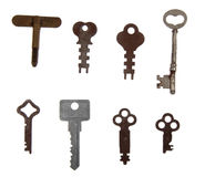 Fancy skeleton keys Royalty Free Stock Images