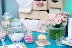 Fancy table set Royalty Free Stock Photos