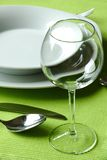 Fancy table setting Royalty Free Stock Photos