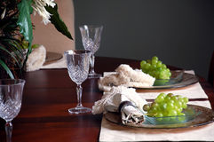 Fancy table setting Stock Photos