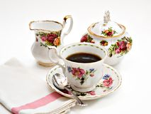 Fancy Tea Stock Photography