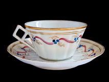 Fancy teacup and saucer Royalty Free Stock Photo