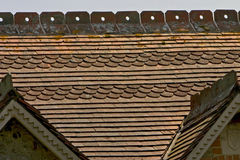 Fancy tiled roof Stock Image