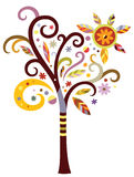 Fancy Tree stock illustration