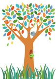 Fancy Tree colorful Royalty Free Stock Photography