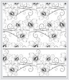 Fancy vector background and border Royalty Free Stock Images