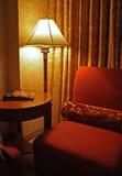Fancy Vintage Hotel Room Décor Vertical. The décor of a fancy vintage hotel room Stock Image