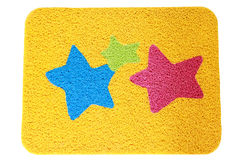 Fancy vinyl dust trap carpet isolate Royalty Free Stock Photography