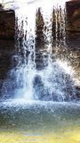 Fancy Waterfall stock photo