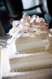 Fancy wedding cake with cool details Royalty Free Stock Images