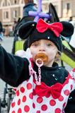 Fancydress of minnie Royalty Free Stock Images