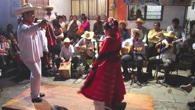 Fandango Dancing stock video