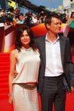Fandera and Yankovskiy at Moscow Film Festival Royalty Free Stock Photo