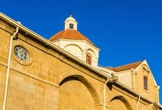 Faneromeni Greek Orthodox Church in Nicosia Stock Image
