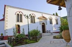 Faneromeni kloster, Lefkada arkivbild