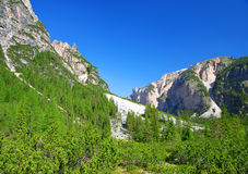 Fanes Nature Park - Italian Alps Royalty Free Stock Images