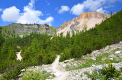 Fanes Nature Park - Italian Alps Royalty Free Stock Photography