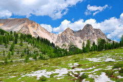 Fanes Nature Park - Italian Alps Royalty Free Stock Photo