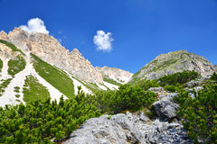 Fanes Nature Park - Italian Alps Stock Photos