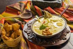 fanesca - plat traditionnel d'ecuadorian de Pâques Images libres de droits